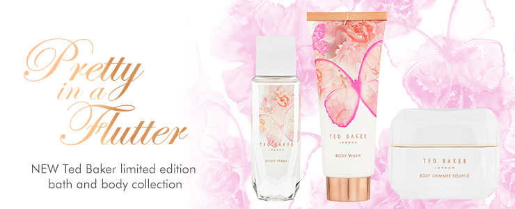 a touch of luxury new ted bakers bath and body collection