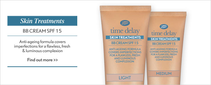 New time delay be be cream SPF fifteen. Anti ageing formula covers imperfections for a flawless and illuminous complexion