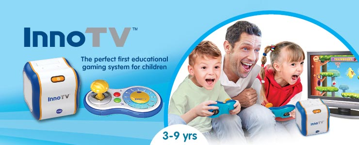 Vtech inno tv perfect first educational gaming system for children