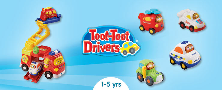 Vtech toot toot drivers playtime with miles of learning