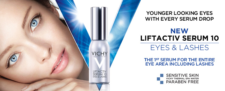 New Vichy Liftactiv Serum 10 for Eyes and Lashes