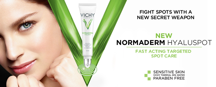 new Normaderm Hyaluspot Cream