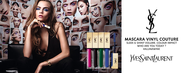 New Yves Saint Laurent Mascara Vinyl Couture