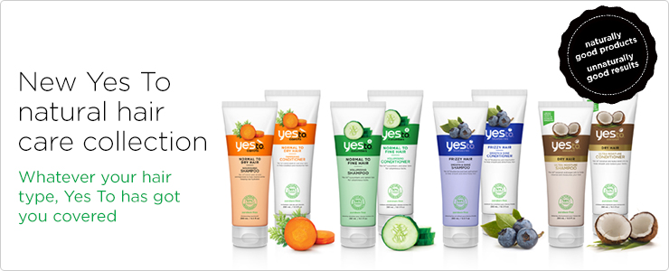 Fruit and veggie powered skin care. Naturally good products. Unnaturally good results - shampoo and conditioner