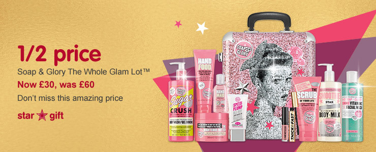 Star Gift Soap and Glory The Whole Glam Lot