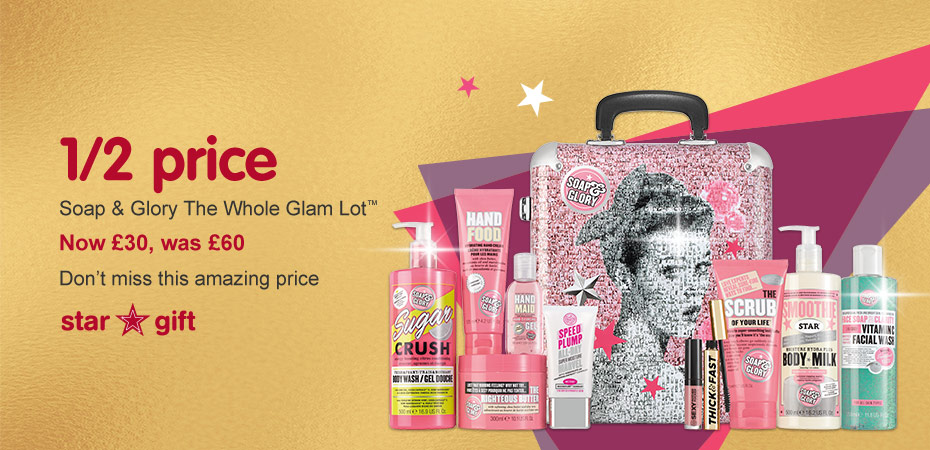 Soap and Glory Star Gift