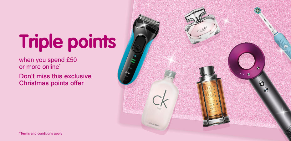 Triple Points when you spend £50