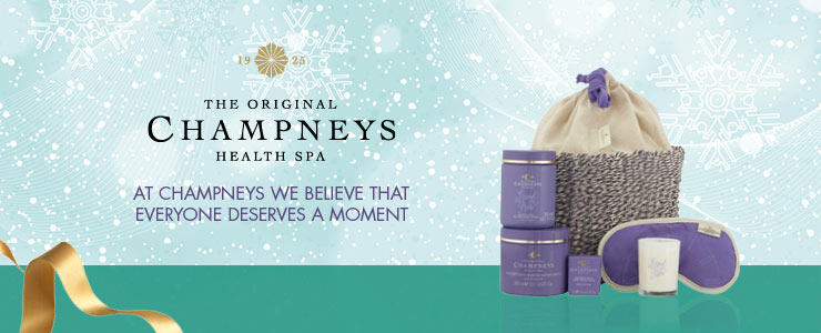 champneys - everyone deserves a moment