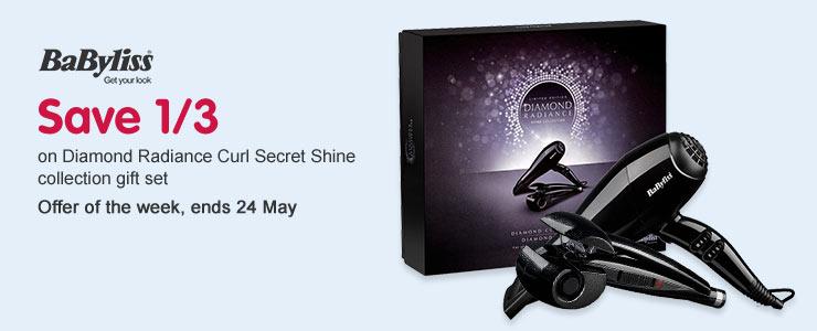 Save 1/3 BaByliss Curl Secret Gift Set OOTW