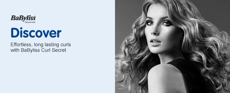 Discover the BaByliss Curl Secret