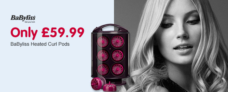 Only £59.99 BaByliss curl pods