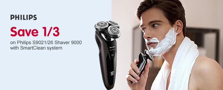 Save third Philips 9000 Shaver