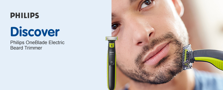 Discover Philips OneBlade electric bread trimmers