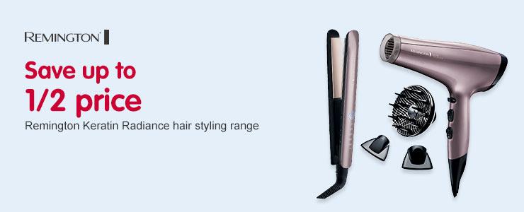 SUTHP Remington Keratin Radiance range