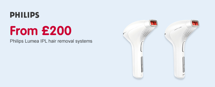 From £200 Philips Lumea IPL