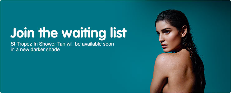 Join the waiting list St Tropez