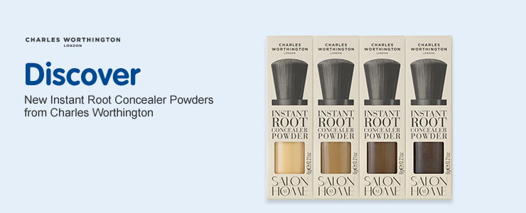 new instant root powders from charles worthington