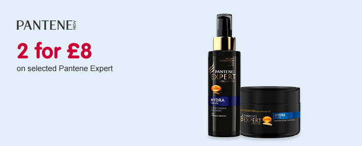 two for eight on selected pantene expert