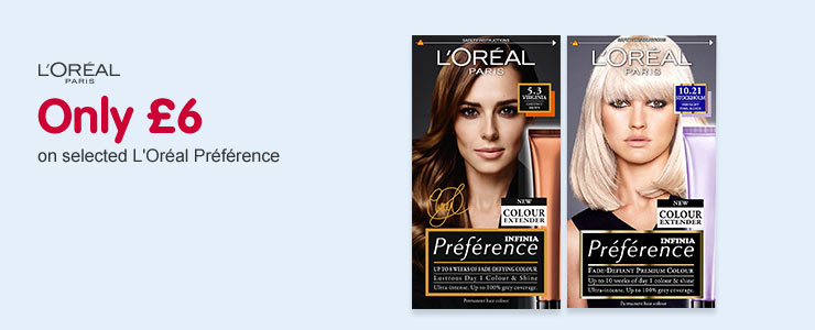 Only £6 L'Oreal Preference