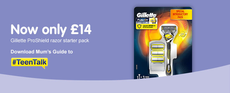 Now only £14 Gillette