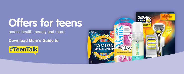 Offers for teens