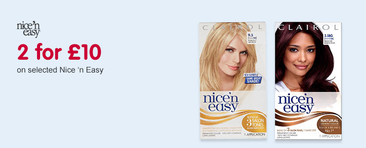 2 for £12 on selected Magic Retouch and L'Oreal Preference