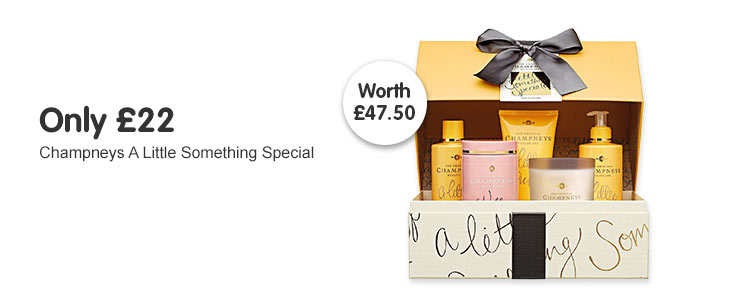 Only £22 on Champneys a little something special