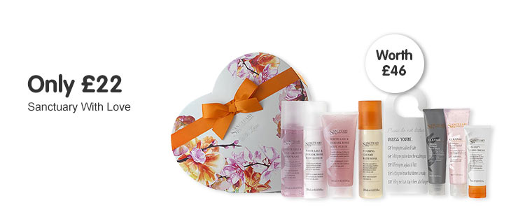 Only £22 on Sanctuary with love gift
