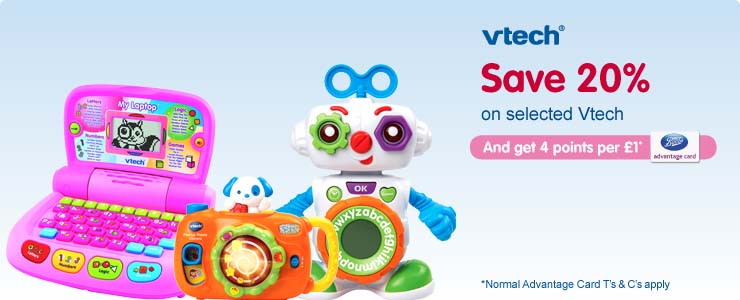 Save 20% on selected Vtech