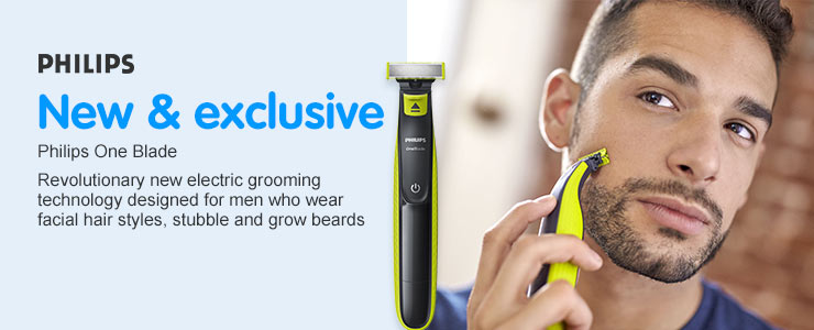 New and exclusive to Boots Philips One Blade
