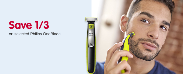 Save 1/3 on Philips OneBlade