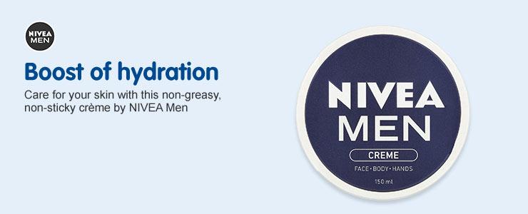 Nivea Men Boost of hydration