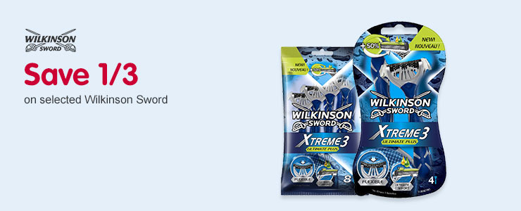 Save a third on selected Wilkinson Sword