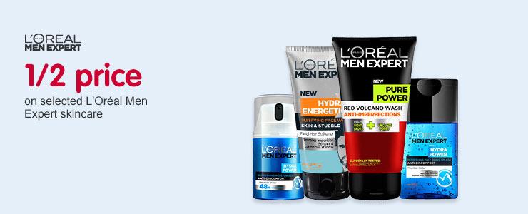 Half price Loreal Skin