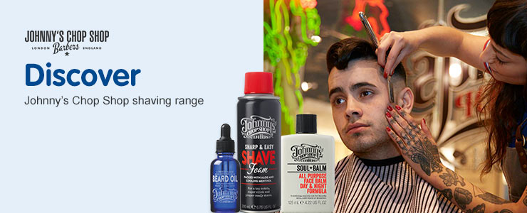 New Johnnys chop shop shaving range