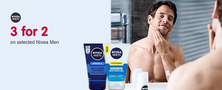 Nivea Men 3 for2