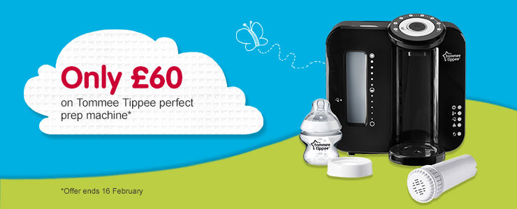 Only £60 Tommee Tippee perfect prep machine