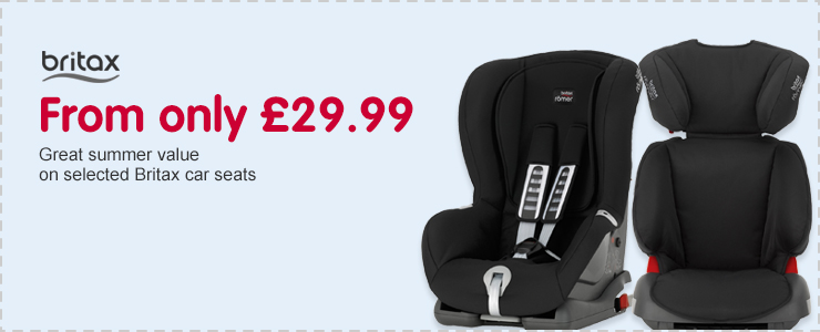 Great Value on selected Britax Romer Car Seats