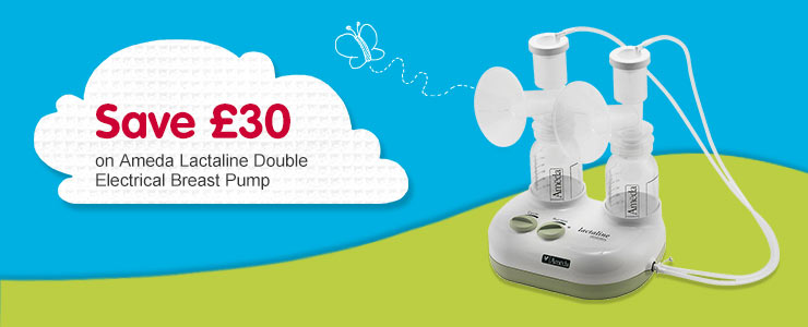 Save £30 on Ameda Lactiline Double Electrical Breast Pump