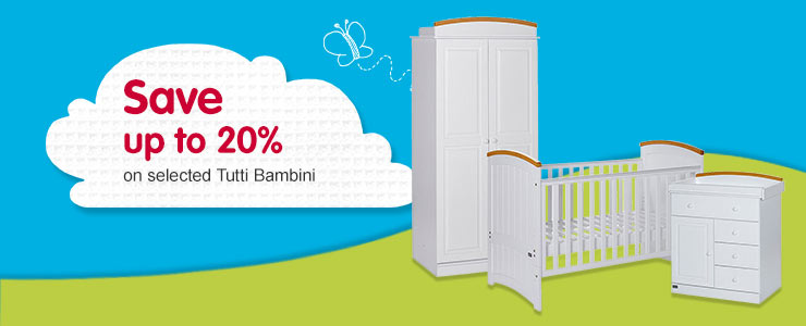 Save up to 20% on selected Tutti Bambini
