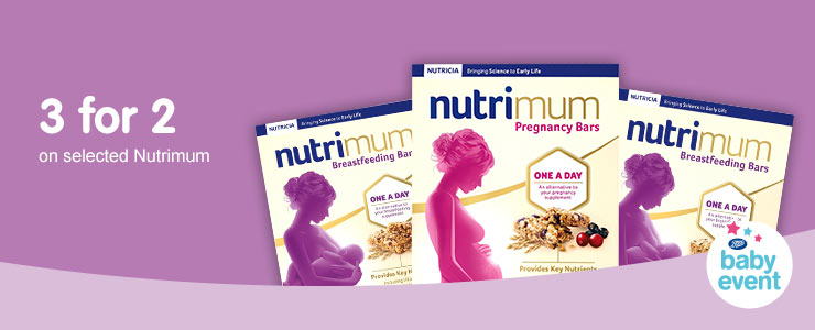 3 for 2 on selected Nutrimum