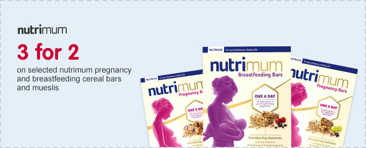 3 for 2 on selected Nutrimum 5 pack bars