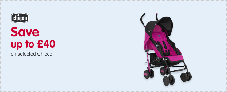 Save up to £40 on Chicco