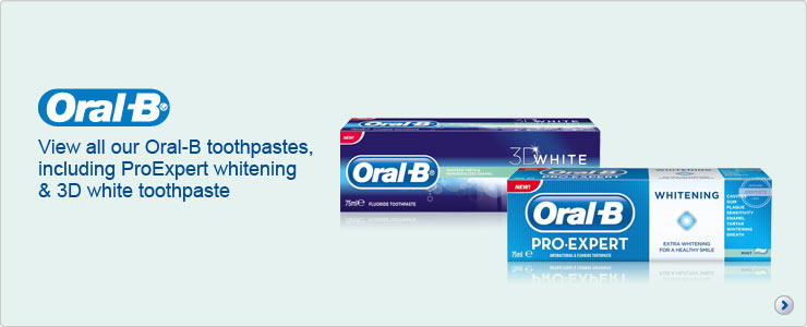View all oral b toothpaste