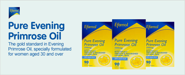 The gold standard in Evening Primrose Oil, specially formulated for women aged 30 and over