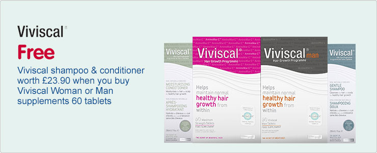New Viviscal hair growth and hair care programmes