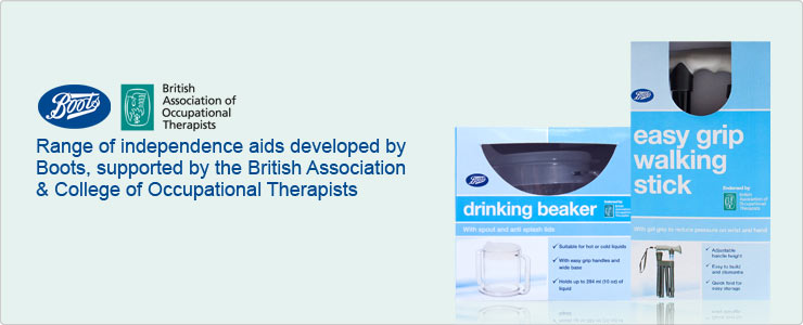 Boots Mobility and Daily Living Aids range