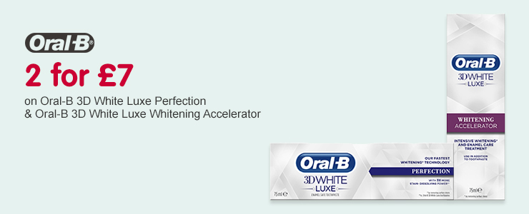Oral-B  2 for £7