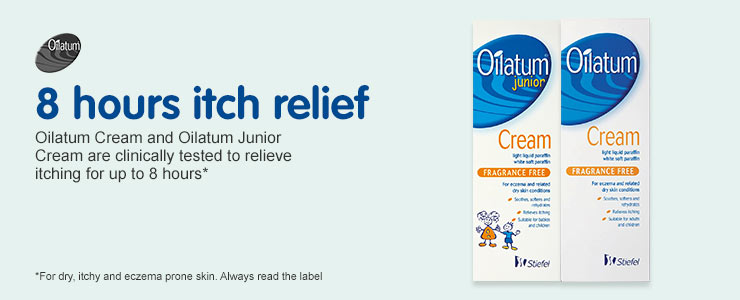 Oilatum 8 hours itch relief