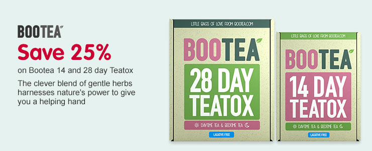 Save 25% on Bootea Teatox